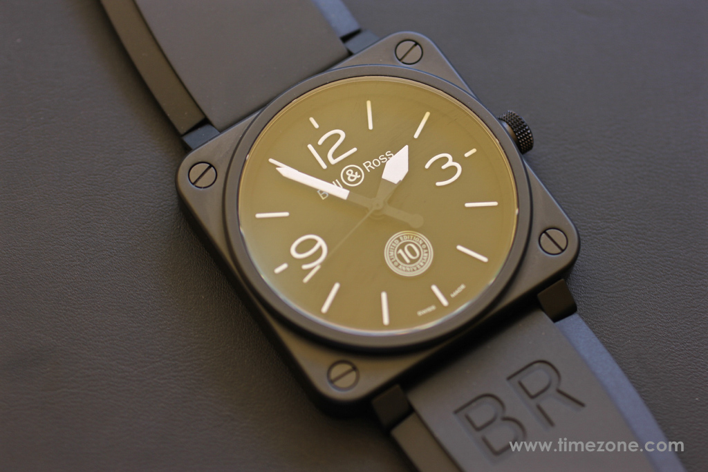 Bell & Ross BR 01 10th Anniversary, BR01 10th Anniversary, BR0192-10TH-CE, Bell Ross Novelties 2015, Bell Ross BR0392