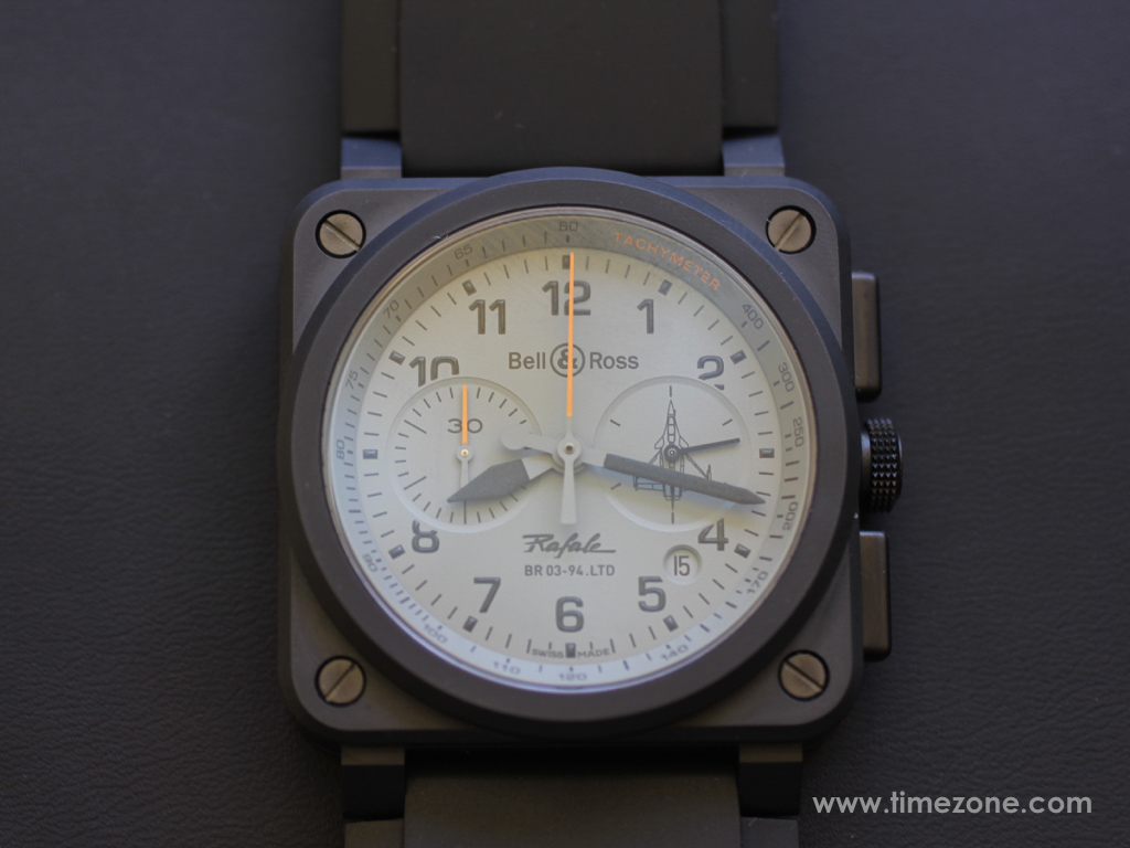 Bell & Ross BR Rafale, BR 03-93 Rafale chronograph, BR0394-RAFALE-CE, Bell Ross Novelties 2015, Bell Ross BR03 Rafale