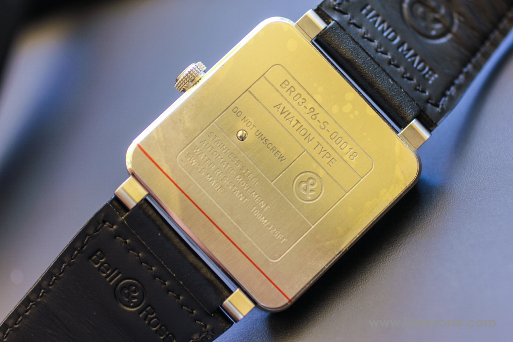Bell & Ross BR 03-96 Golden Heritage, BR03-96 Golden Heritage, BR0396-G-HE-ST, Bell Ross Novelties 2015, Bell Ross BR03-96