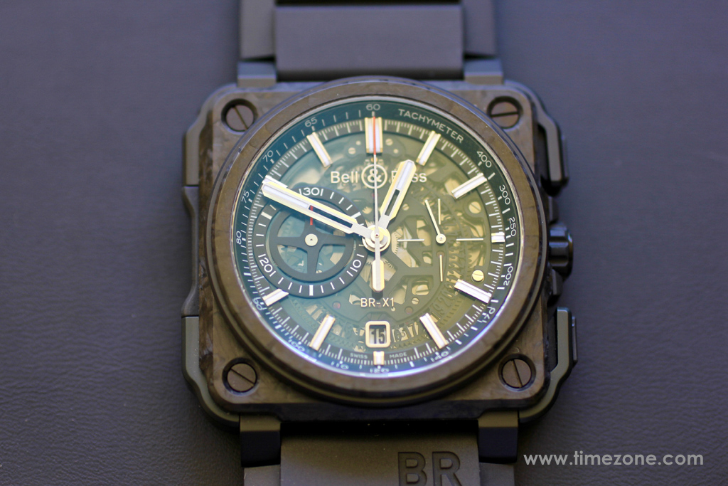 Bell & Ross BR-X1 Carbone Forge, BR-X1 Carbone Forge, BRX1-CE-CF-BLACK, Bell Ross Novelties 2015, Bell Ross BR-X1 Carbon Forgé