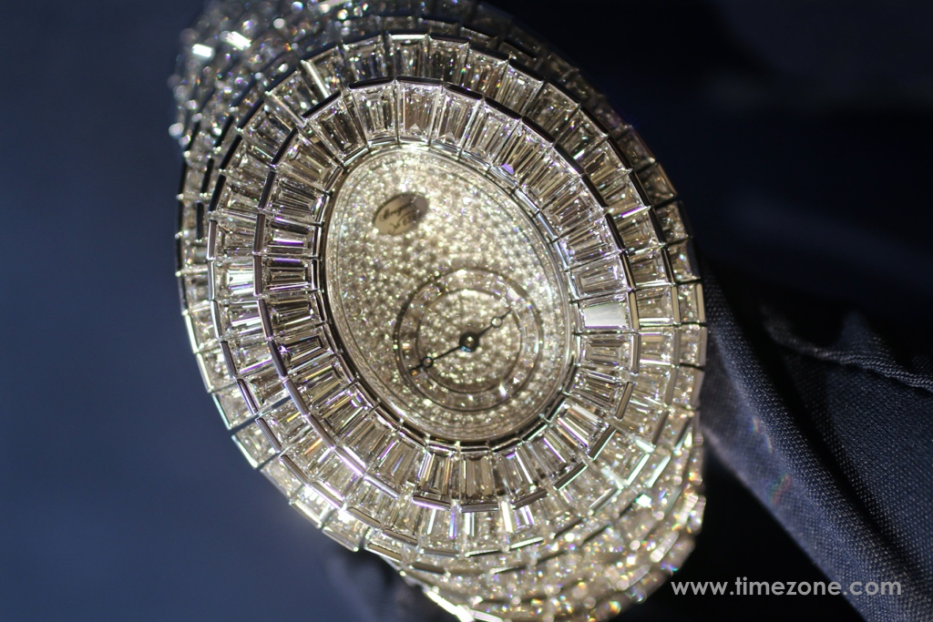Breguet Crazy  Flower  Full  Baguette, Breguet Haute Joaillerie Reine de Naples, Breguet High Jewelry, Breguet Crazy Flower,  Breguet diamond dial, Breguet GJE25BB20.8989FB1