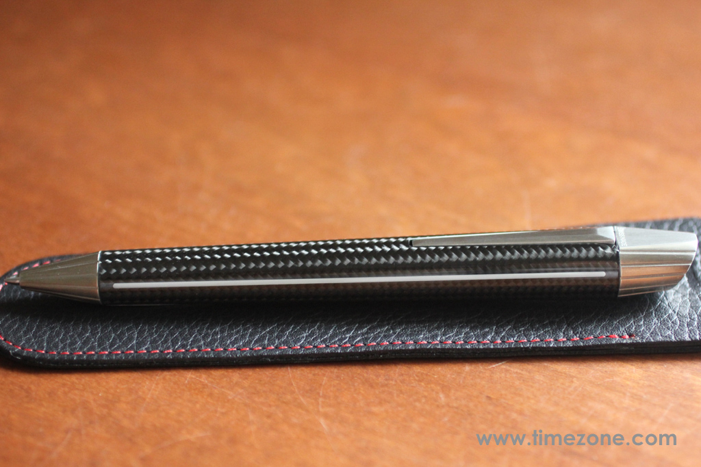 Edelberg Sloop review,  Sloop EB-1040, EB-1040 review, Sloop disappearing clip, Edelberg Sloop, Sloop pen, Sloop carbon fiber, Edelberg carbon, Edelberg Sloop Carbon Fiber Luminova