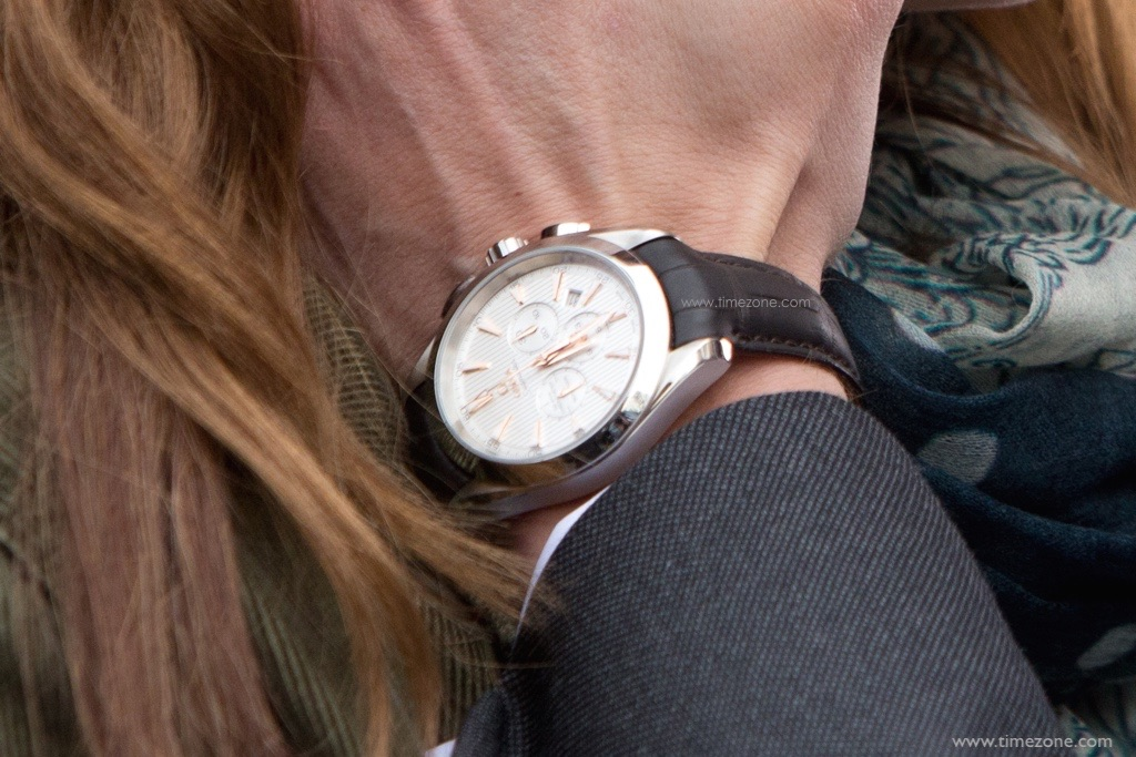 TimeZone : Omega » It's official, Christian Grey wears ...