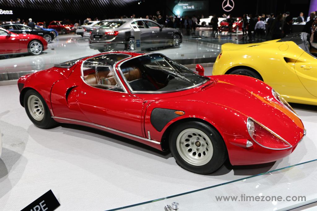 1968 Alfa Romeo 33 Stradale, Alfa Romeo 33 Stradale, 33 Stradale LA Auto Show, Alfa Romeo Tipo 33