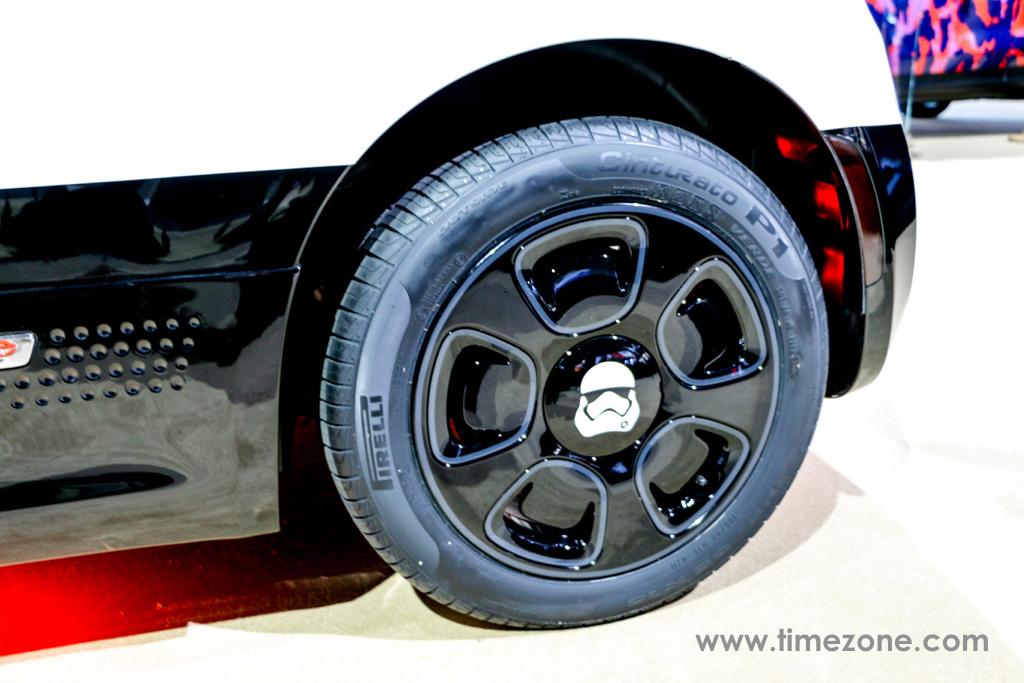 Fiat 500e Stormtrooper, Fiat Star Wars LA Auto Show, Fiat First Order Stormtrooper