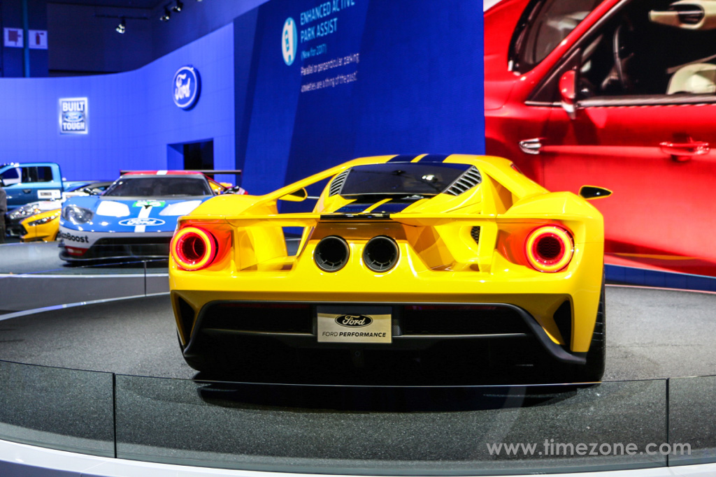 ford gt ford gt la auto show ford gt yellow stripes ford gt - 2015 Ford Gt Auto Show