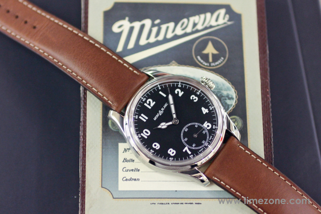 Montblanc 1858 Small Second review, Montblanc 1858 Small Seconds review, Montblanc Pilot watch, Montblanc 1858 Small Seconds, Montblanc 112638, Caliber MB 23.03, Montblanc Minerva review, Montblanc Villeret review, Montblanc watch review
