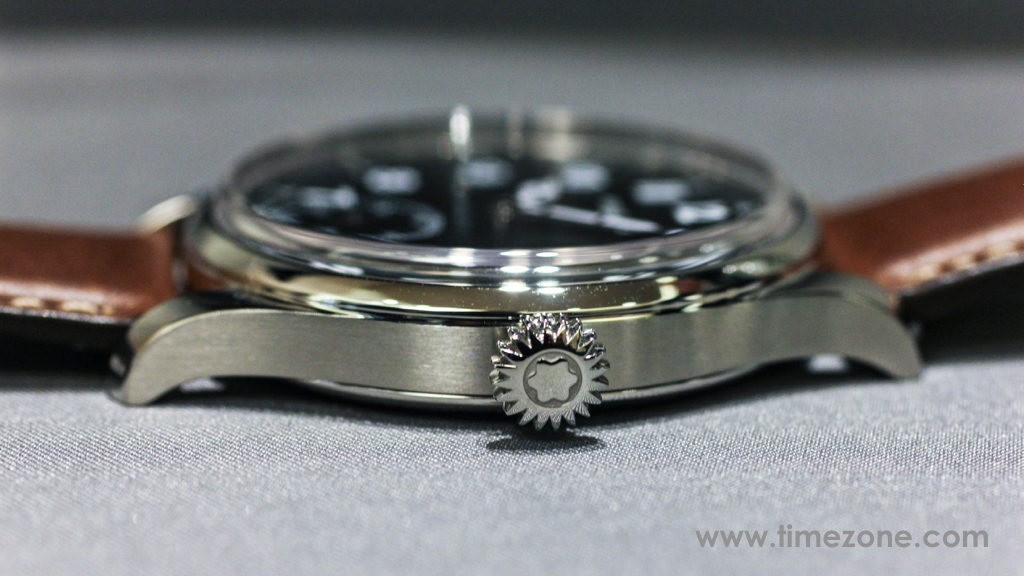 Montblanc 1858 Small Second case, Montblanc 1858 Small Second review, Montblanc 1858 Small Seconds review, Montblanc Pilot watch, Montblanc 1858 Small Seconds, Montblanc 112638, Caliber MB 23.03, Montblanc Minerva review, Montblanc Villeret review, Montblanc watch review