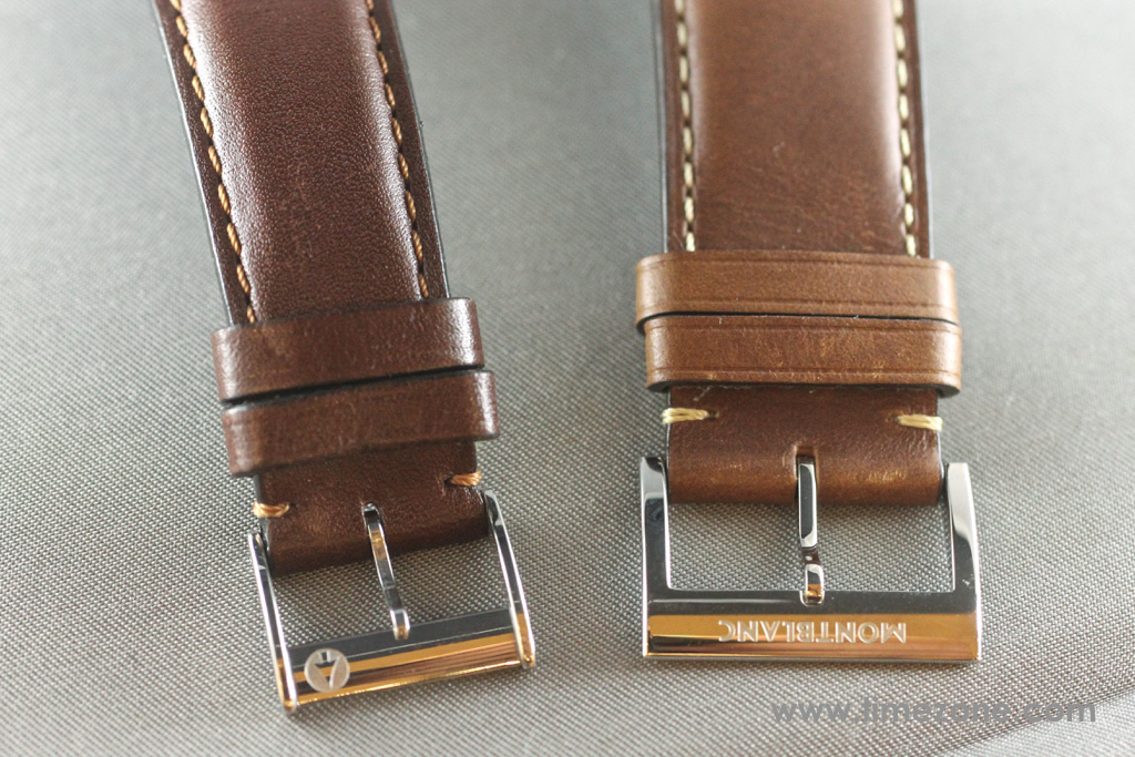 Montblanc 1858 Small Second strap, Montblanc 1858 Small Second review, Montblanc 1858 Small Seconds review, Montblanc Pilot watch, Montblanc 1858 Small Seconds, Montblanc 112638, Caliber MB 23.03, Minerva caliber 49, Montblanc Unitas, Montblanc Minerva review, Montblanc Villeret review, Montblanc watch review