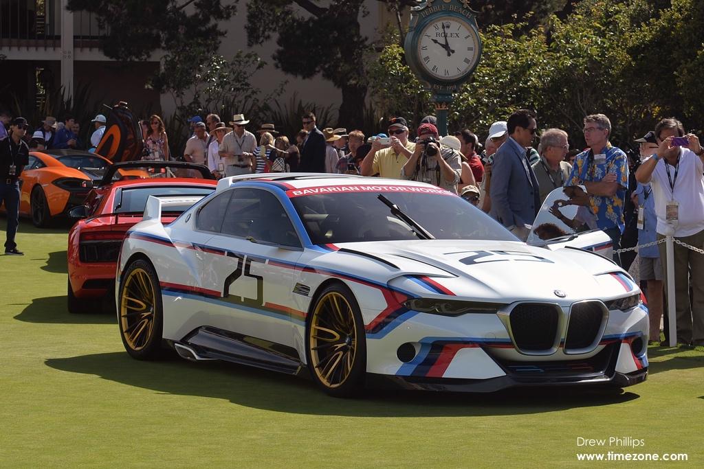 BMW 3.0 CSL Hommage R, BMW Hommage, BMW Pebble Beach, 2015 Pebble Beach Concours d'Elegance, Pebble Beach Concept Lawn