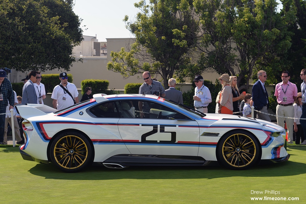 BMW 3.0 CSL Hommage R, BMW Hommage, BMW IMSA , 2015 Pebble Beach Concours d'Elegance, Pebble Beach Concept Lawn