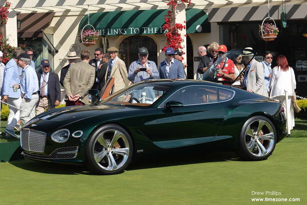 Concept Lawn Pebble Beach Concours Delegance 2015 Video Jessica on racing alfa spider