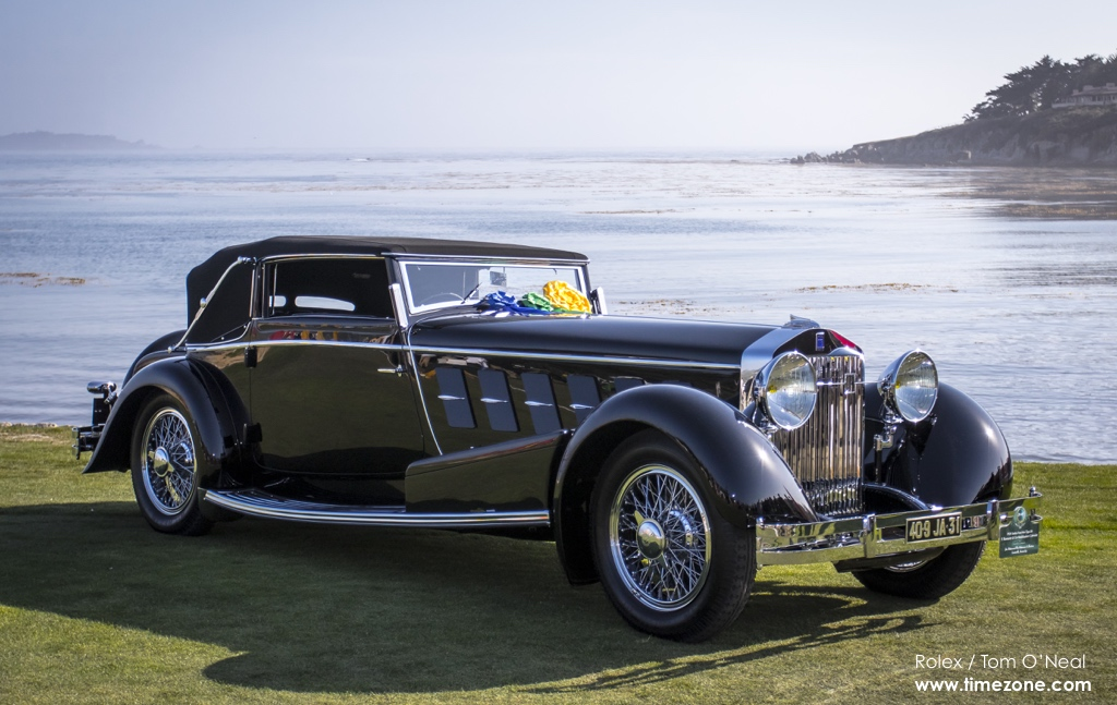 Isotta Fraschini Tipo 8A, Pebble Beach Best of Show, Pebble Beach Concours, 65th Annual Pebble Beach Concours d'Elegance, 2015 Pebble Beach Concours d'Elegance
