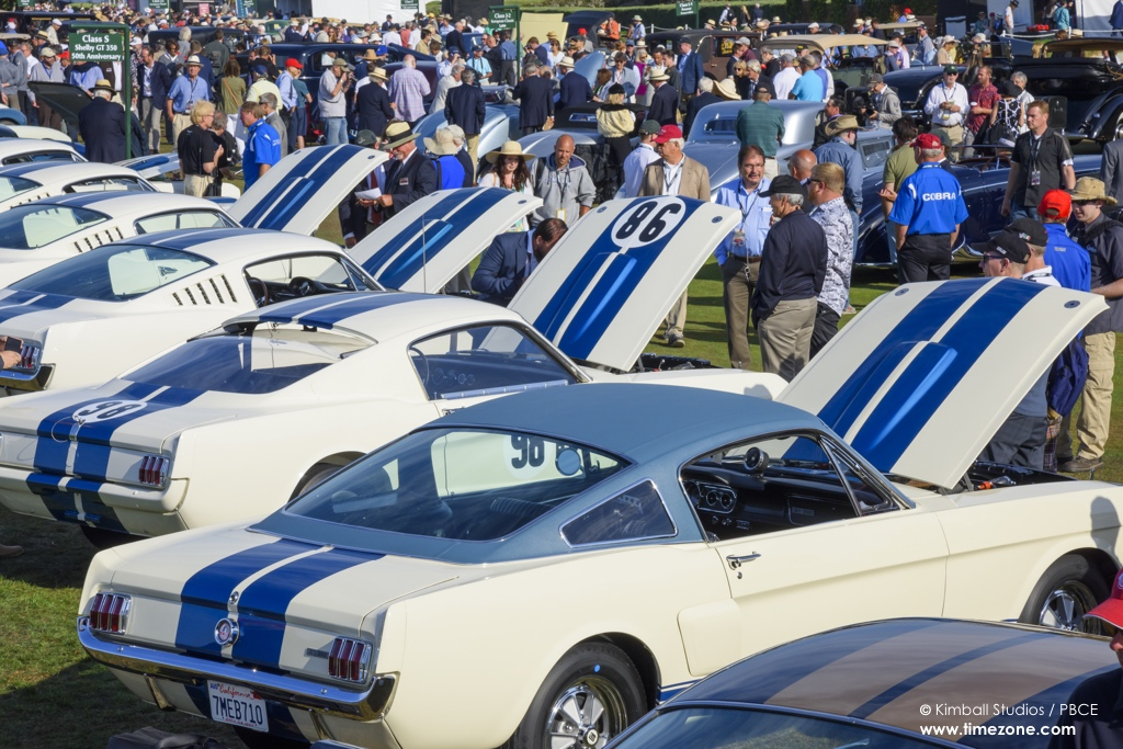 1965 Shelby GT350, GT350H, Shelby GT350 Mustang 50th Anniversary, Shelby GT350 Pebble Beach, 65th Annual Pebble Beach Concours d'Elegance, 2015 Pebble Beach Concours d'Elegance