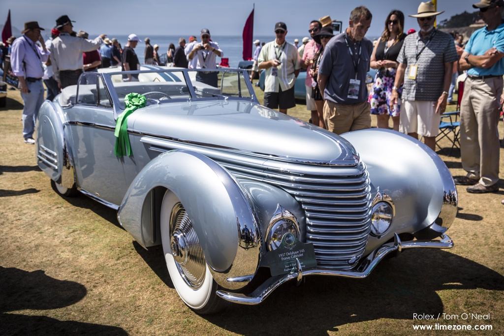 1937 Delahaye 145 Franay Cabriolet, Delahaye 145, Delahaye Pebble Beach, 65th Annual Pebble Beach Concours d'Elegance, 2015 Pebble Beach Concours d'Elegance