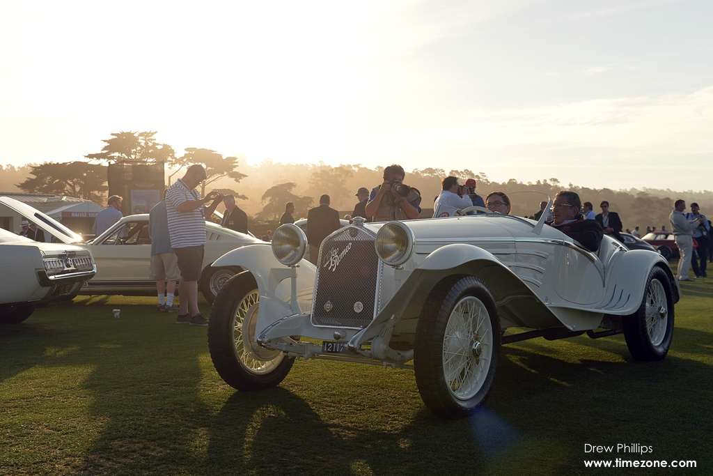 1931 Alfa Romeo 6C 1750 Gran Sport Touring Spider, Alfa Romeo 6C 1750, Alfa Romeo Pebble Beach, 65th Annual Pebble Beach Concours d'Elegance, 2015 Pebble Beach Concours d'Elegance