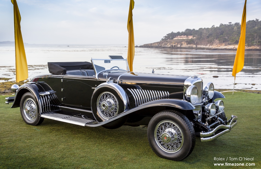 1930 Duesenberg J Murphy Convertible Coupe, Duesenberg Pebble Beach, 65th Annual Pebble Beach Concours d'Elegance, 2015 Pebble Beach Concours d'Elegance