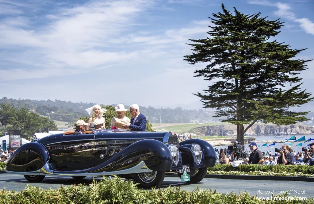 1939 Bugatti Type 57C Vanvooren Cabriolet, Bugatti 57C, Bugatti Pebble Beach, 65th Annual Pebble Beach Concours d'Elegance, 2015 Pebble Beach Concours d'Elegance