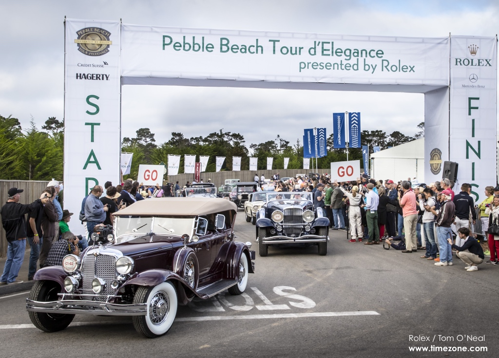 1931 Chrysler CG Imperial LeBaron Dual Cowl Phaeton, Chrysler CG Imperial LeBaron, Pebble Beach Tour d'Elegance, 2015 Pebble Beach, 2015 Tour d'Elegance