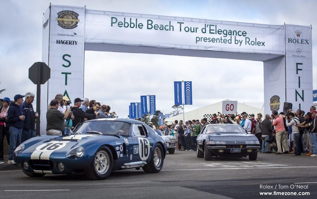 1965 Shelby Cobra Daytona Coupe, Cobra Daytona, Shelby Daytona, Shelby Cobra Daytona, chassis CSX2602, CSX2602, 1965 Daytona, Pebble Beach Tour d'Elegance, 2015 Pebble Beach, 2015 Tour d'Elegance