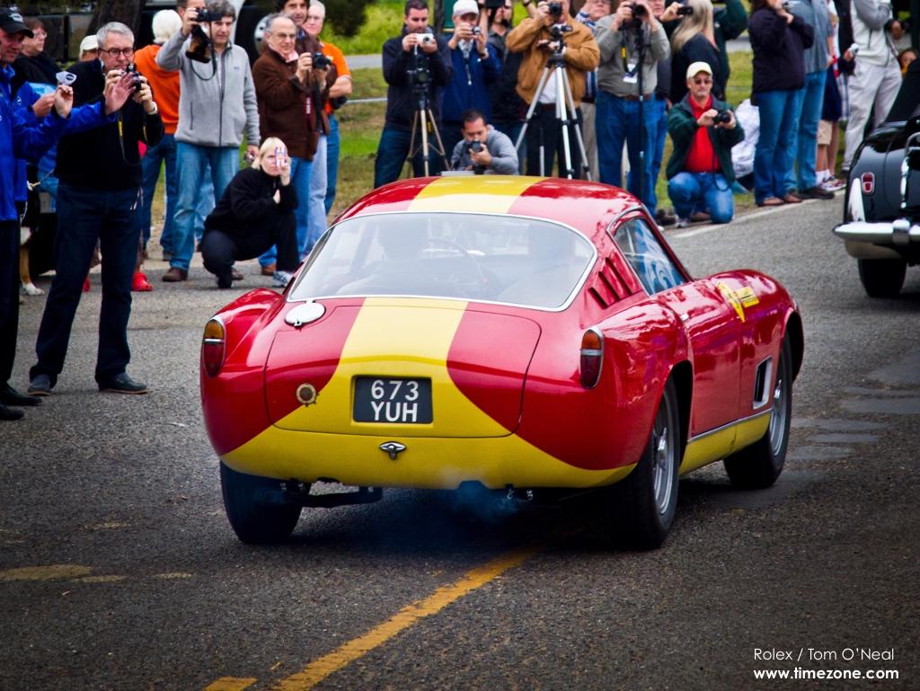 1957 Ferrari 250 GT LWB Scaglietti Berlinetta, 1957 Ferrari 250 GT, Pebble Beach Tour d'Elegance, 2015 Pebble Beach, 2015 Tour d'Elegance