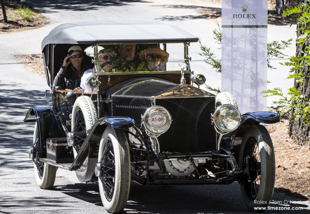 1914 Rolls-Royce Silver Ghost Kellner Torpedo Phaeton, Rolls-Royce Silver Ghost, Pebble Beach Tour d'Elegance, 2015 Pebble Beach, 2015 Tour d'Elegance