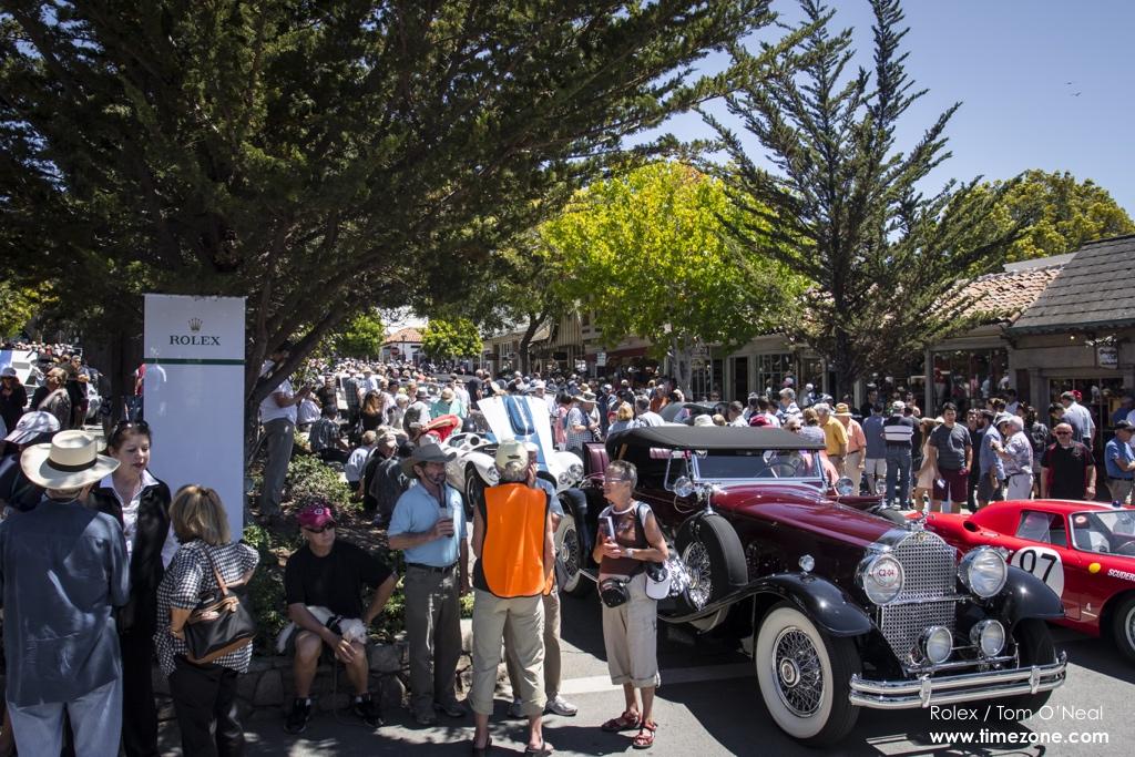 Ocean Drive Carmel, Ocean Drive classic cars, Pebble Beach Tour d'Elegance, 2015 Pebble Beach, 2015 Tour d'Elegance
