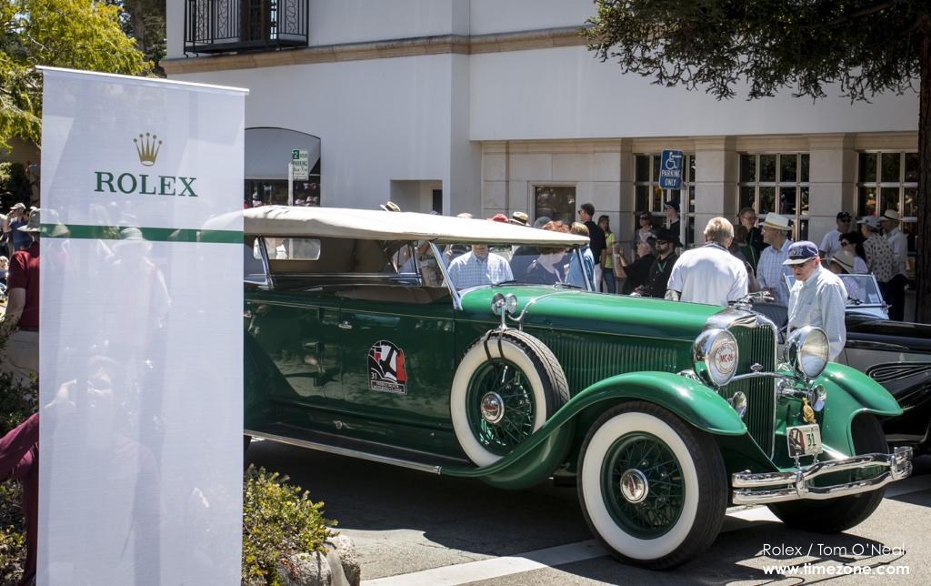 1931 Lincoln K Murphy Dual Cowl Phaeton, 1931 Lincoln K, Ocean Drive Carmel, Ocean Drive classic cars, Pebble Beach Tour d'Elegance, 2015 Pebble Beach, 2015 Tour d'Elegance
