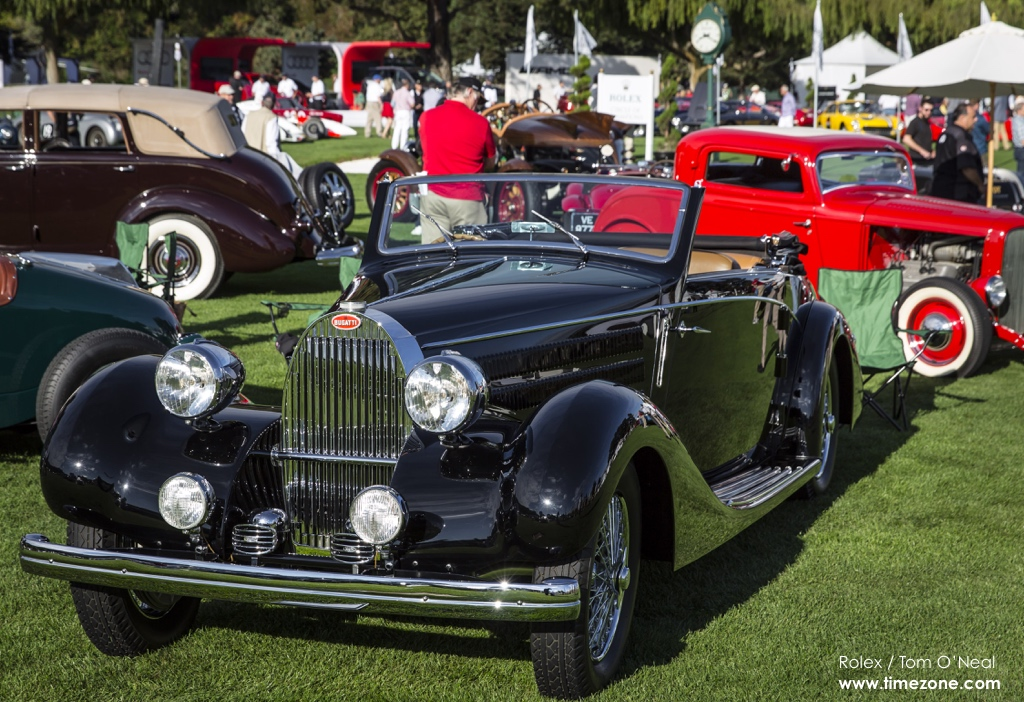 1939 Bugatti Type 57, Bugatti Type 57, 2015 Quail Motorsports Gathering, Quail Motorsports Gathering, Rolex Quail, Quail Lodge and Golf Club