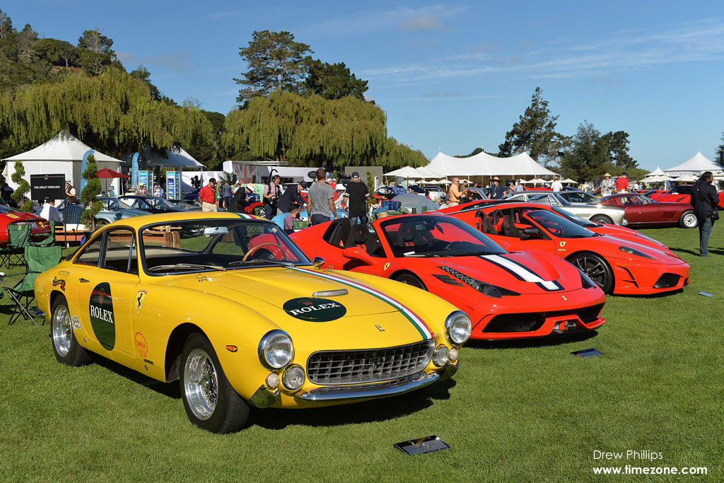 The Great Ferraris, 2015 Quail Motorsports Gathering, Quail Motorsports Gathering, Rolex Quail, Quail Lodge and Golf Club