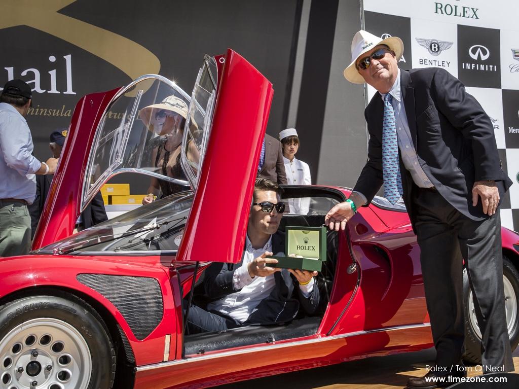 1968 Alfa Romeo Tipo 33 Stradale, Alfa Romeo Tipo 33, Stewart Wicht, 2015 Quail Motorsports Gathering, Quail Motorsports Gathering, Rolex Quail, Quail Lodge and Golf Club