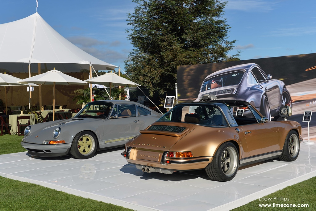 Porsche 911 Targa reimagined, 911 Targa Singer, Porsche Singer, 2015 Quail Motorsports Gathering, Quail Motorsports Gathering, Rolex Quail, Quail Lodge and Golf Club