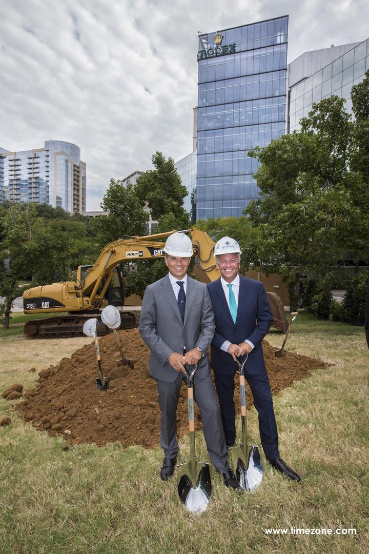 Rolex Dallas, Rolex Service Center, RSC Dallas, Rolex Service Centre, Rolex Building, Rolex CEO Jean-Frédéric Dufour, Rolex CEO