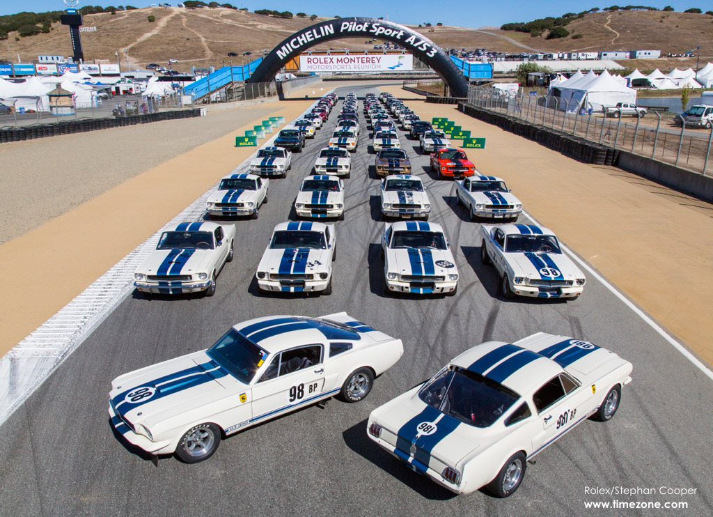Shelby GT350 Mustang, Shelby GT350 Mustang Reunion, Shelby GT350 Mustang 50th Anniversary, 2015 Monterey Motorsports Reunion