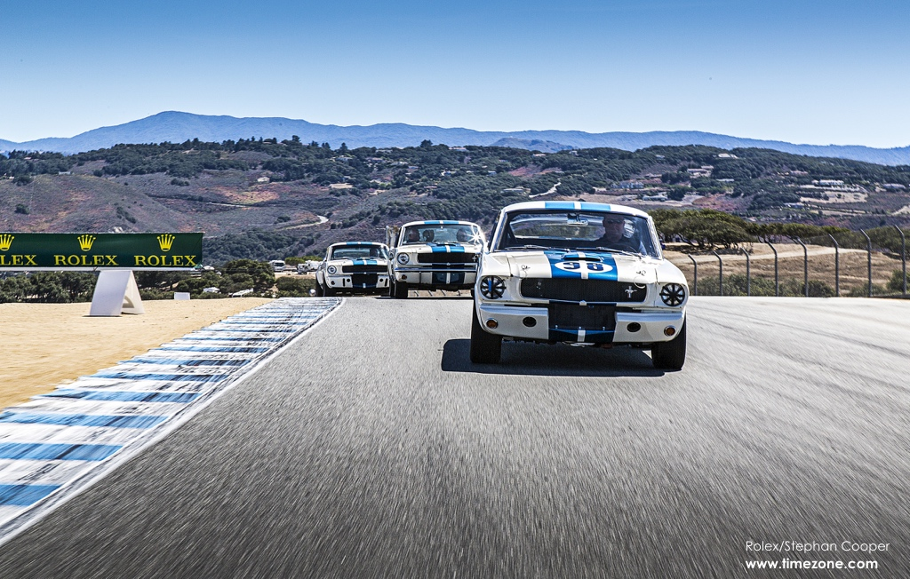 Shelby GT350 Mustang, Shelby GT 350 Heritage Display, Shelby GT350 Mustang Reunion, Shelby GT350 Mustang 50th Anniversary, 2015 Monterey Motorsports Reunion