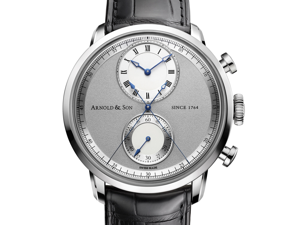 Arnold and Son Chronograph True Beat , Timezone WOTY 2014, Timezone WOTY