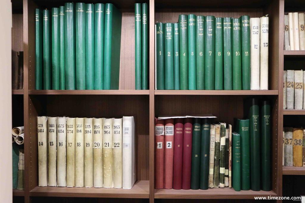 Breguet Museum, Breguet vault, Breguet production registers, Breguet sales ledgers, Breguet repair books, Abraham-Louis Breguet certificates, Breguet letters from clients, Breguet technical annotations