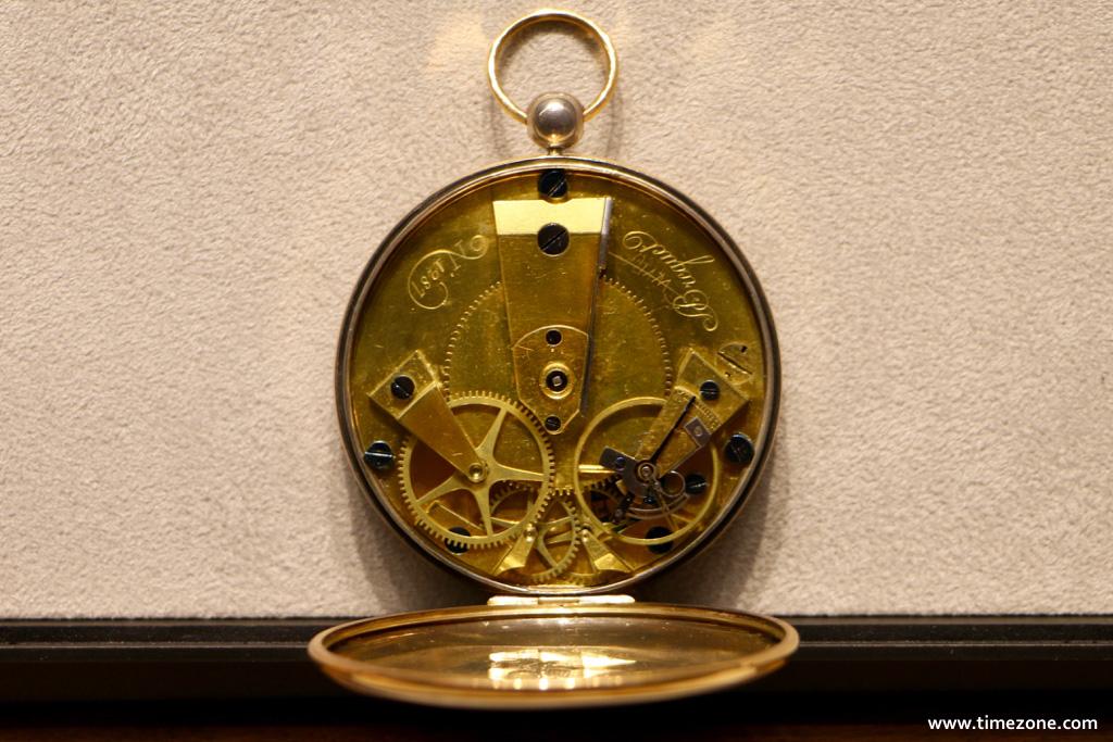 Breguet Museum, Breguet vault, Souscription No. 1287, Breguet Souscription 1287