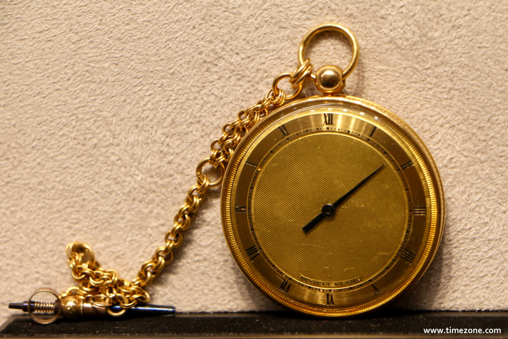 Breguet Museum, Breguet vault, Souscription No. 4215, Breguet Souscription 4215