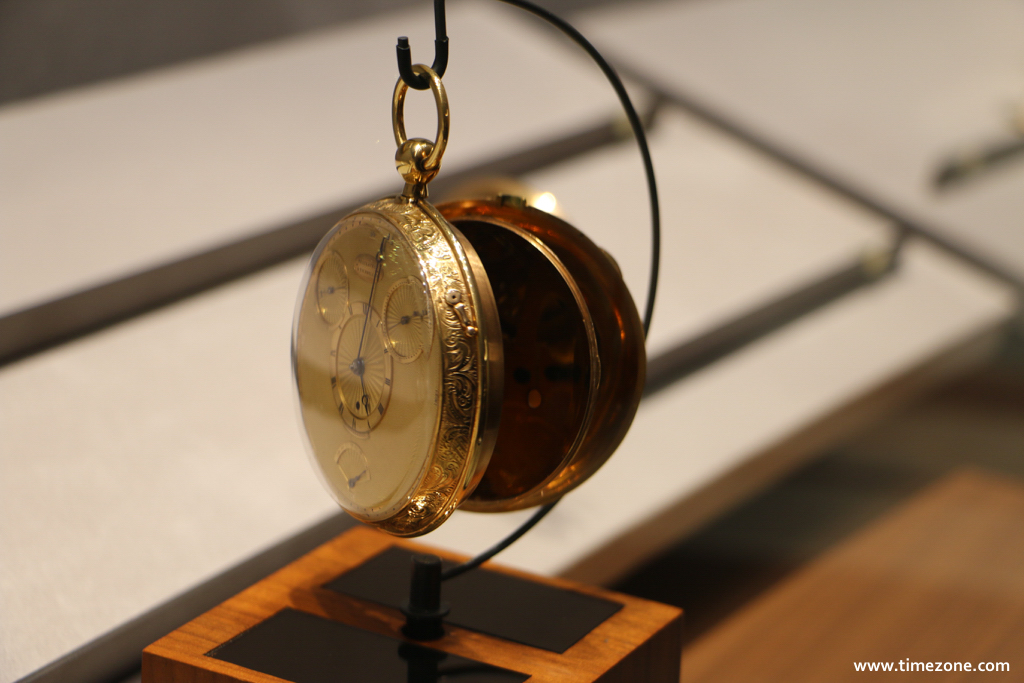 Breguet Museum, Breguet N°1176, Breguet 1176, Breguet gold pocket watch with tourbillon, Breguet inverted fusée, Breguet natural escapement, Breguet four minute tourbillon, Breguet Count Stanislas Potocki
