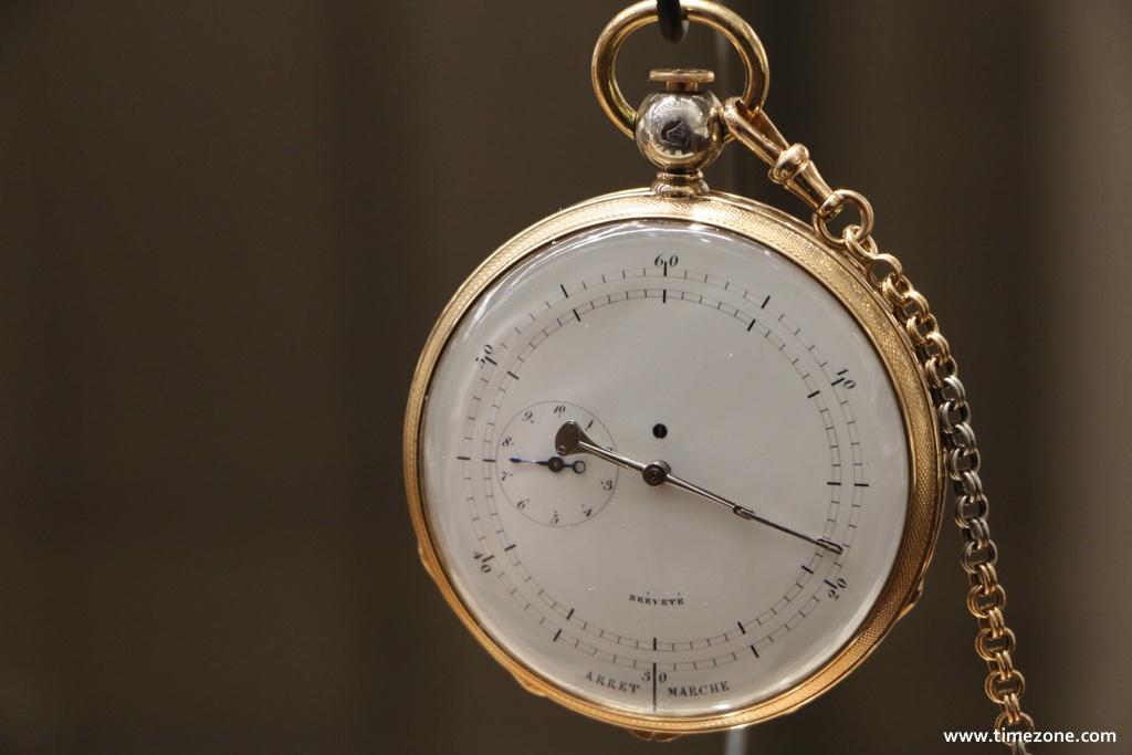 Breguet Museum, Breguet N°4168, Breguet 4168, Breguet fatton, Breguet inking chronograph