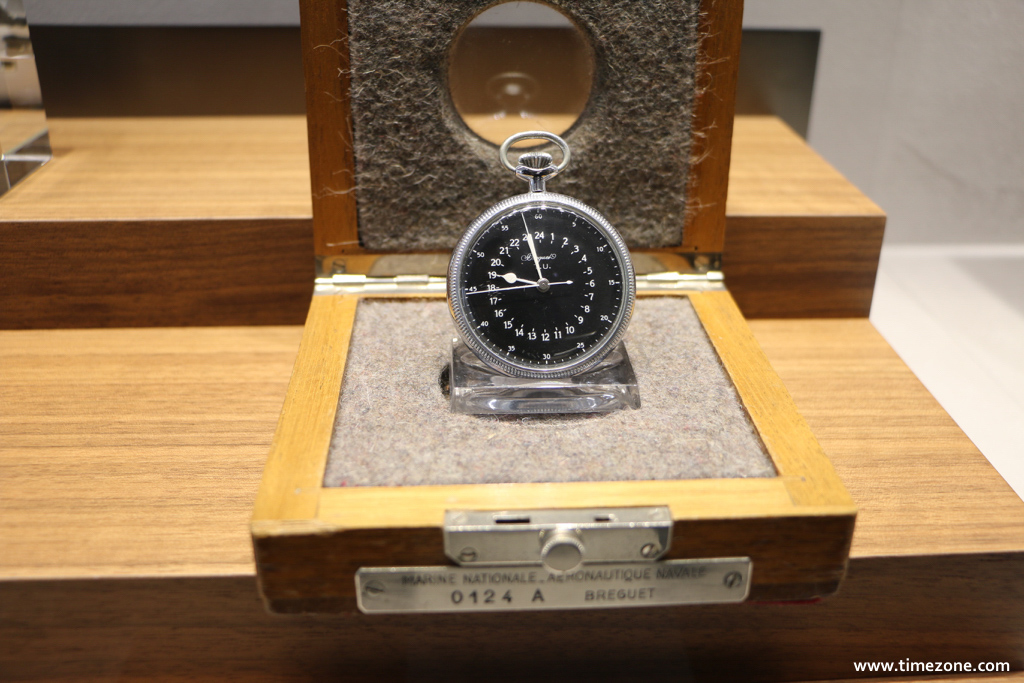 Breguet Museum, Breguet military watch, Marine Nationale Aéronautique Navale 0124A