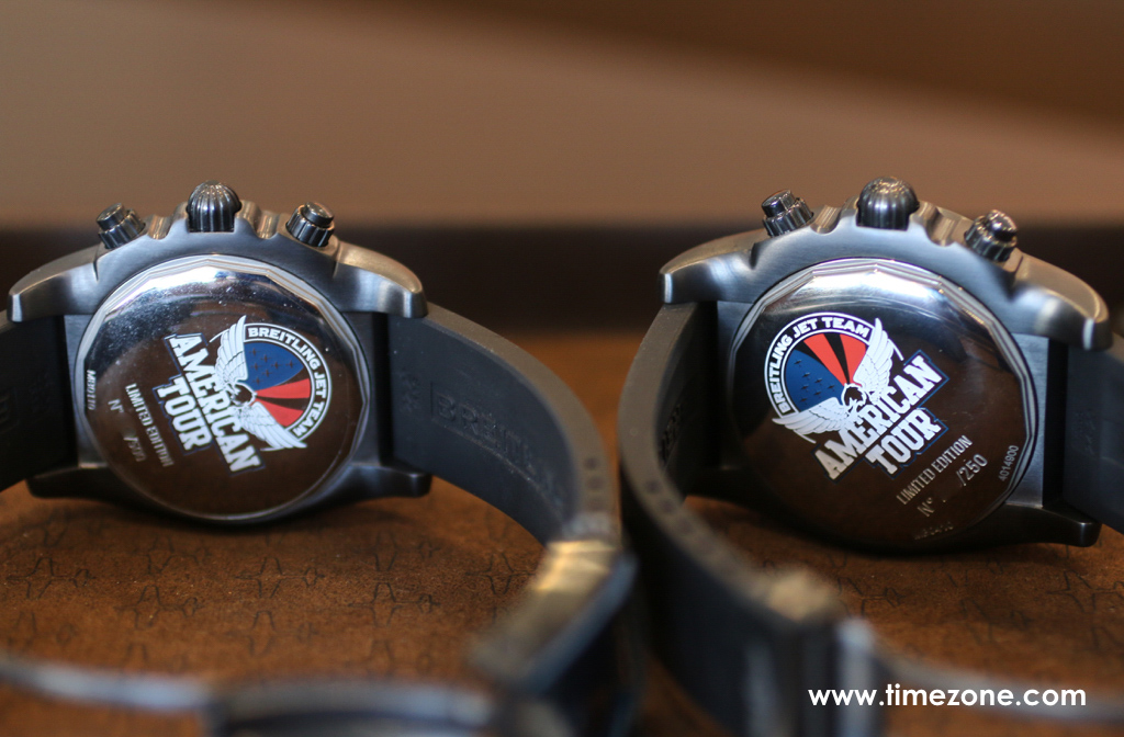 Chronomat GMT Breitling Jet Team American Tour, Chronomat 44 Breitling Jet Team American Tour, Breitling La Jolla, BJT American Tour