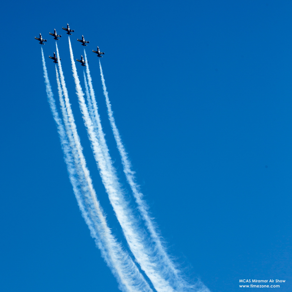 Breitling Jet Team performs at the 2016 MCAS Miramar Air Show, Breitling Jet Team Miramar