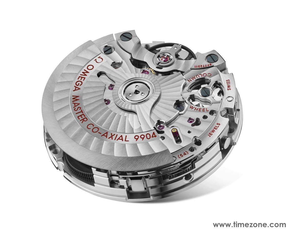 Speedmaster Moonphase, Omega Speedmaster Moonphase Chronograph Master Chronometer, Omega Speedmaster Moon, Speedmaster Moonphase 9904, Omega calibre 9904, caliber 9904, Omega 9904