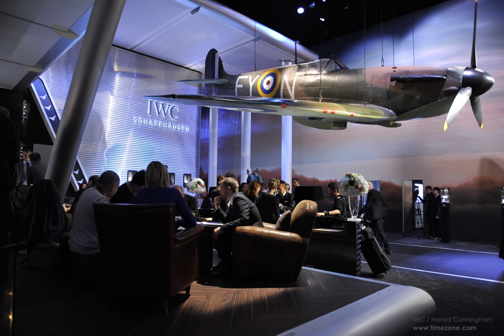 IWC Booth SIHH, IWC Come Fly With Us, IWC Booth Pilot's Watches, IWC Booth SIHH 2016