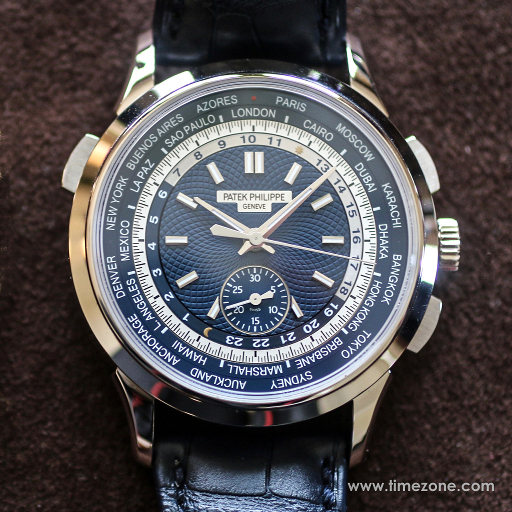 World Time Chronograph Ref. 5930, Patek Philippe 5930, Patek Philippe World Time Chronograph, Patek 5930 review, Patek Worldtimer Chronograph, Patek Philippe Preview, Patek Philippe Beverly Hills