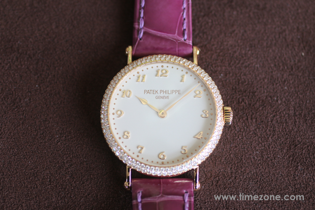 Ladies Calatrava, Ladies Calatrava 7200/200R-001, Patek Philippe 7200, Ladies Calatrava 7200/200R-001, Patek Philippe Ladies Calatrava, Patek Philippe Flamme Caliber 215 PS