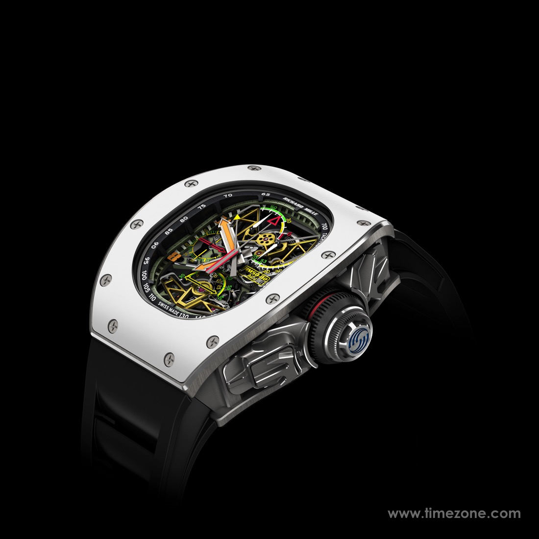Richard Mille RM 50-02 ACJ Tourbillon Split Seconds Chronograph, Richard Mille RM 50-02 ACJ, Tourbillon Split Seconds Chronograph, Richard Mille RM 50-02, RM50-02, Richard Mille Tourbillon Split Seconds Chronograph, Richard Mille ACJ, Richard Mille Airbus