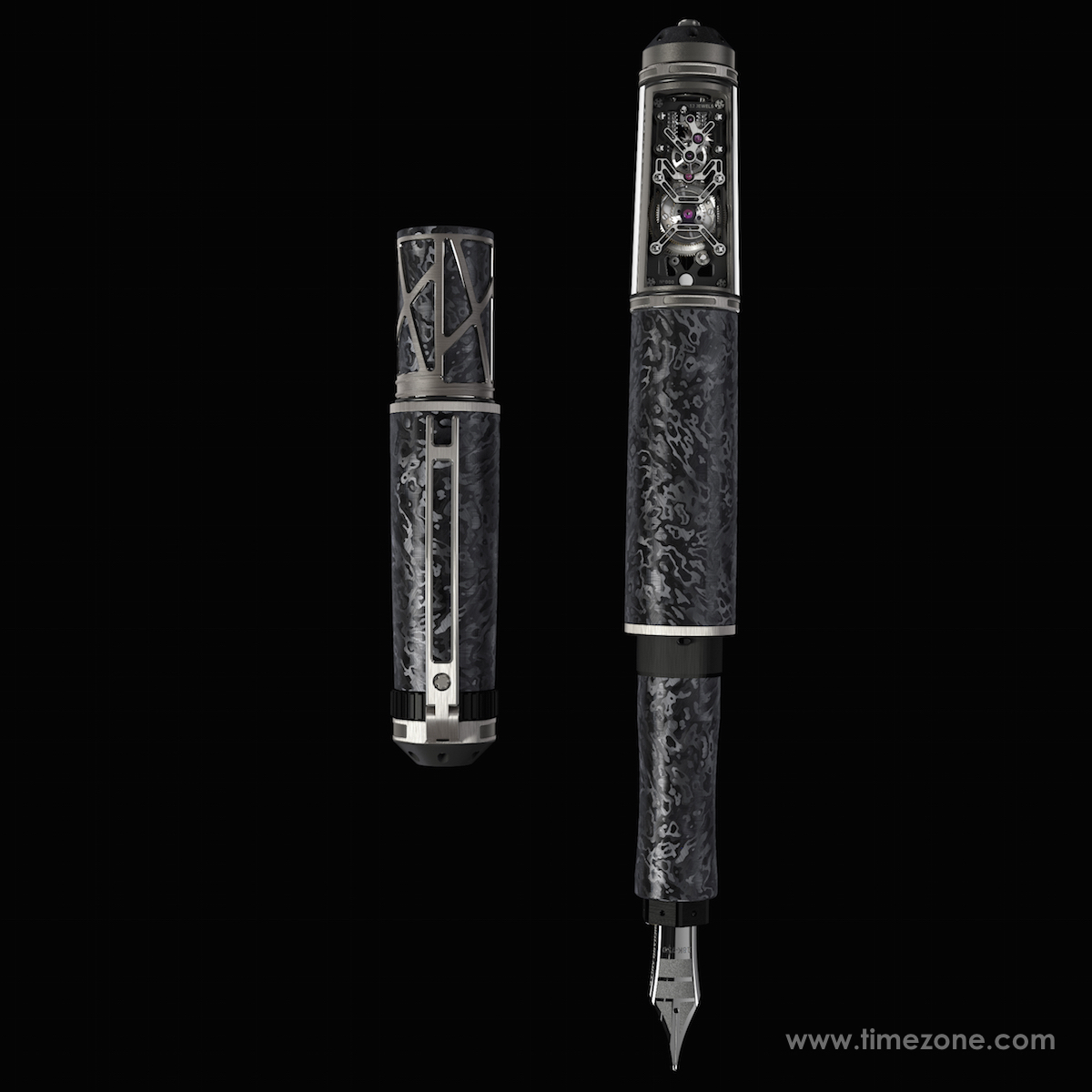 Richard Mille Mechanical Fountain Pen, Richard Mille RMS, Richard Mille pen, Richard Mille fountain pen